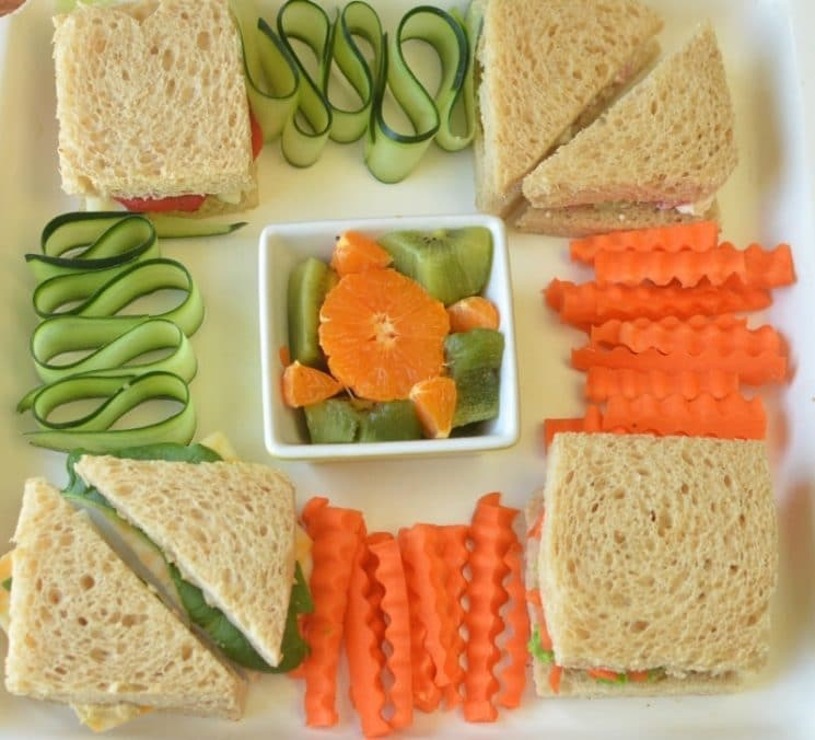 Four New Veggie Sandwiches For Kids. Kick PB&J to the curb with these 4 veggie sandwiches!