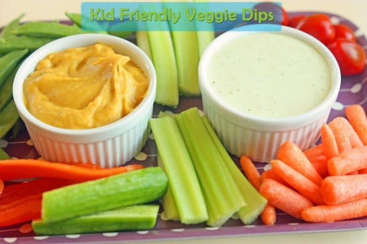 Kid-Friendly Veggie Dips. These dips will make raw veggies in your house magically disappear!