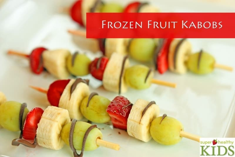 Frozen Fruit Kabobs
