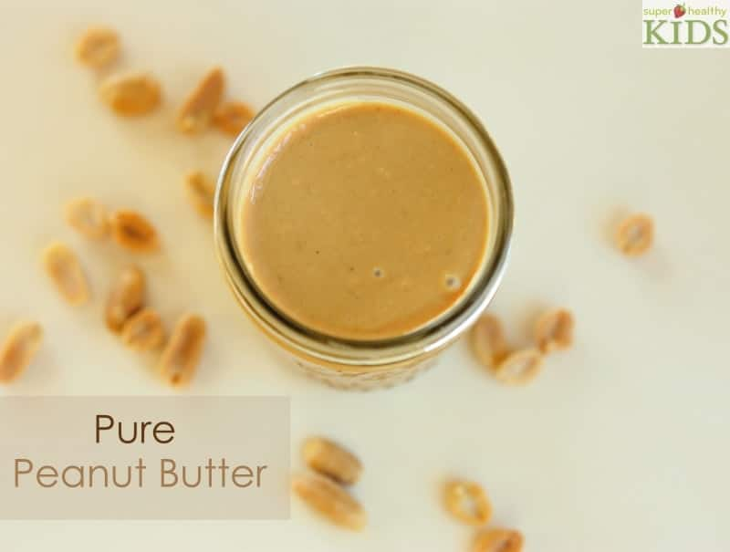 Homemade Nut Butter: Pure Peanuts. DIY PB the whole family won't get enough of!