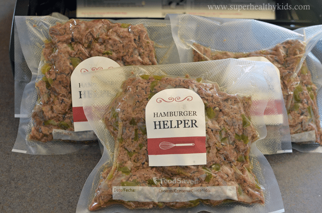 4 Quick Meals with Homemade Hamburger Helper. Make your meat once, and use it for four different dinners- Such a time saver!