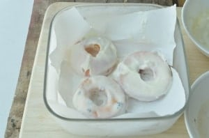Real Peach Donuts Recipe. A healthy treat for kids, Peach Donuts!