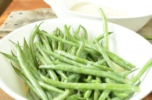Green Fries Recipe- Toddler Finger Food. We love these finger beans.