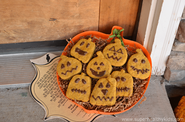 Pumpkin Roll Out Cookies with Beans and Coconut Sugar. Spook & get spooked this Halloween with these delicious pumpkin cookies!