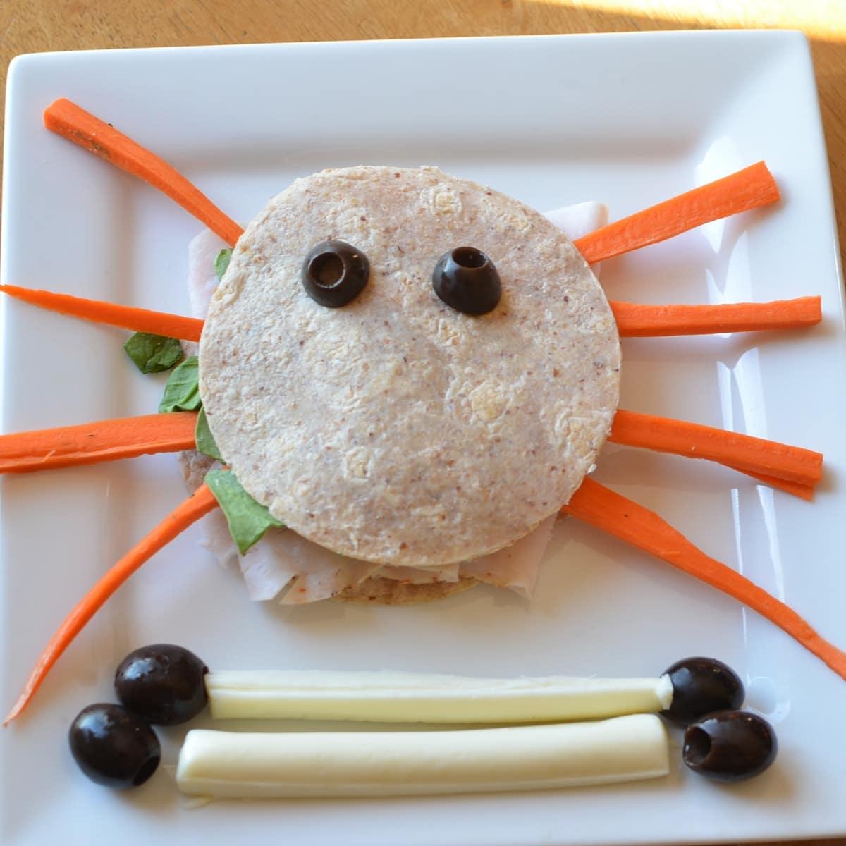 Spider Sandwiches - Super Healthy Kids