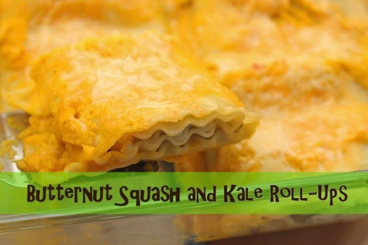 Butternut Squash and Kale. DINNER IDEA!! Cheesy and delicious, plus easy to make!