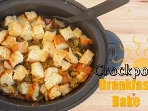 Crockpot Breakfast Bake Recipe Super Healthy Kids