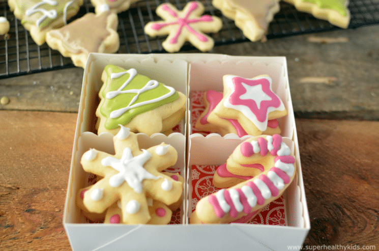 Christmas Bean Cookies with Homemade and Natural Food Dyes. These Christmas cookies are festive and delicious!
