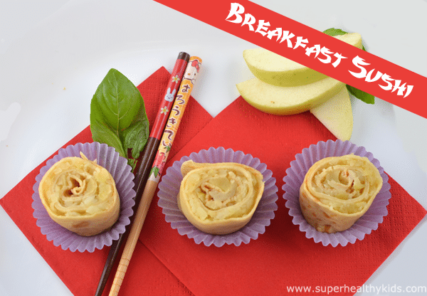 Breakfast Sushi Apple Roll Ups. You don't have to be a Sous Chef to make this breakfast sushi recipe