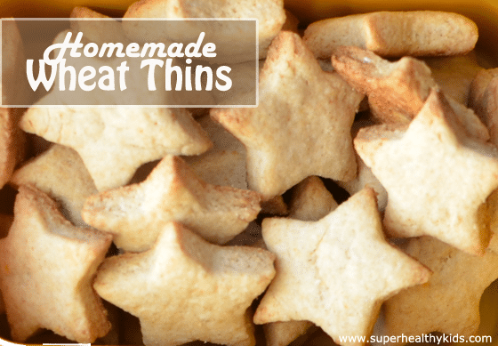 Homemade Wheat Thins For Lunch. Do your kids like crackers? We like them too, that's why we made this homemade version of Wheat thins!