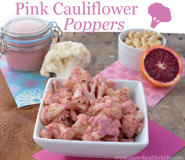 Pink Cauliflower Poppers. Blast cauliflower like a pro with this recipe!