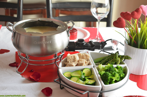 Valentine's Day Vegetables - Special dinner for great kids.  A fun dinner to celebrate Valentine's Day with the family!
