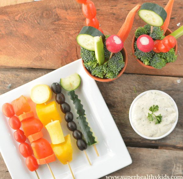 Dairy-Free Ranch Dip. A perfect dip recipe for kids who are lactose intolerant.