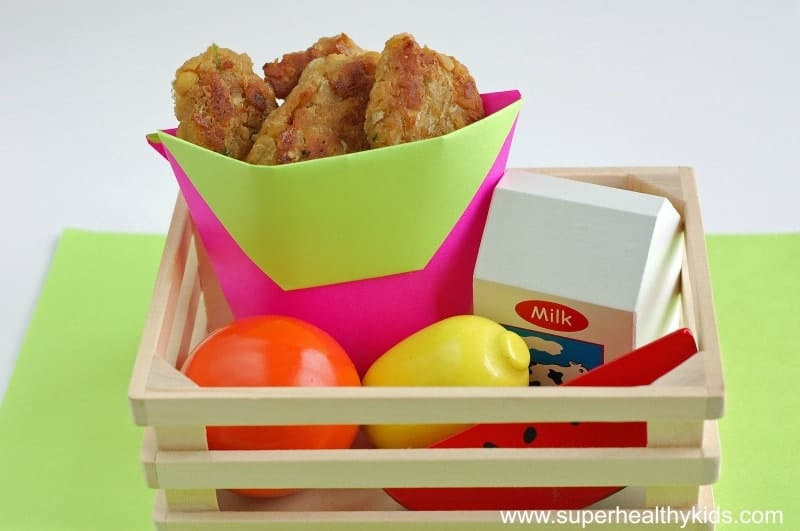Chick-en Nuggets Recipe. #1 tip for getting kids to eat more beans- make this recipe!