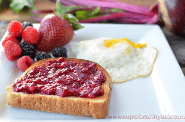 We've been hiding veggies in our jam! Delicious on a PB&J!