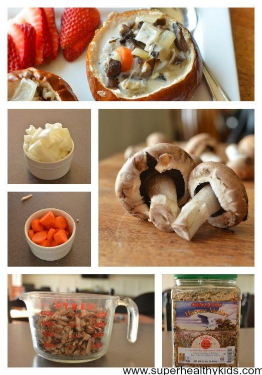 Crockpot Creamy Mushroom Soup Recipe - Super Healthy Kids