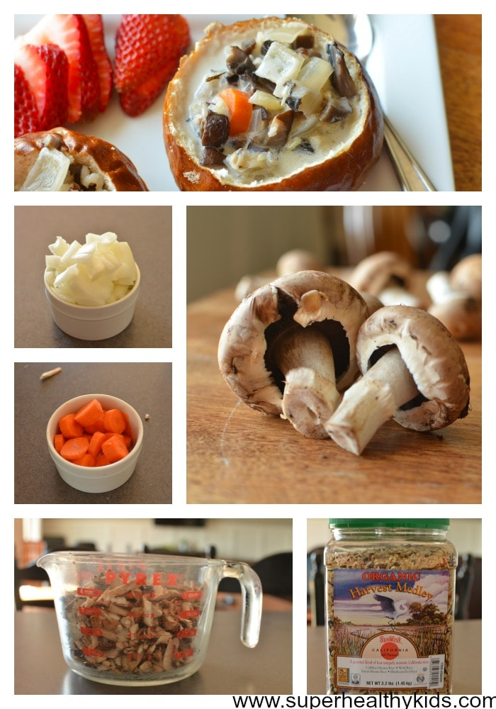 Crockpot Creamy Mushroom Soup Recipe. Get your kids to eat mushrooms in a way that will have them begging for more!