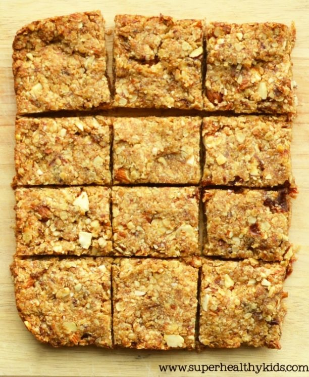Dole Date Almond Energy Bar Recipe. These energy bars are so great for taking hiking or any adventures. The kids love them so much.