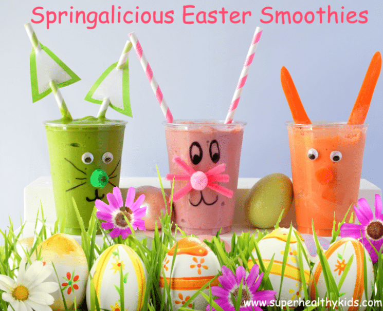 Springalicious Easter Smoothie Recipe
