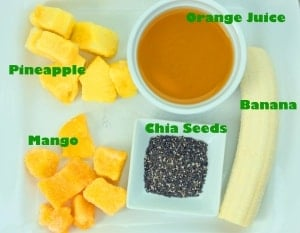 Sunburst Energy Smoothie Recipe. BREAKFAST SMOOTHIE! Such a healthy way to start the day.