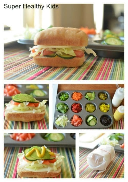 Our-Way Mini Sub Sandwiches. Picky eaters? Satisfy each family member's unique tastes and only serve ONE meal!