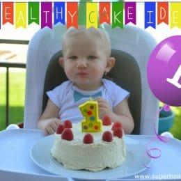 Babys First Birthday Cake