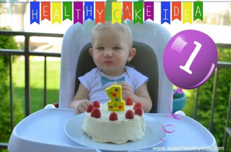 Babies First Birthday Cake. This perfect, natural sweetener is plenty sweet for this birthday cake!