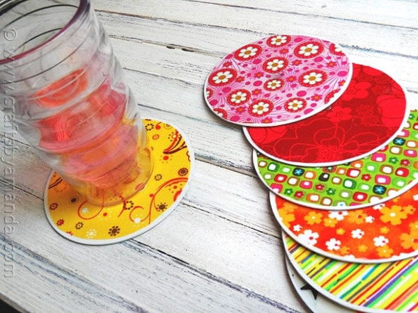 A great coaster can go well with your delicious Slushberry drink!
