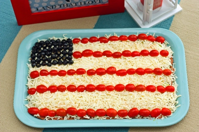 Try our Patriotic Party Dip Recipe and have a great weekend!