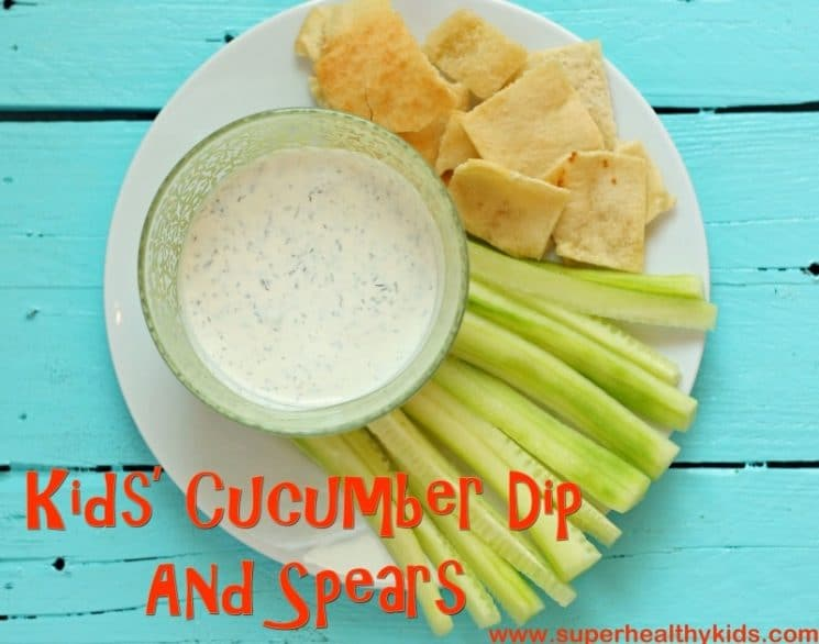 Kids in the kitchen! Make sure to start them with this veggie and dip to learn vital cutting skills!