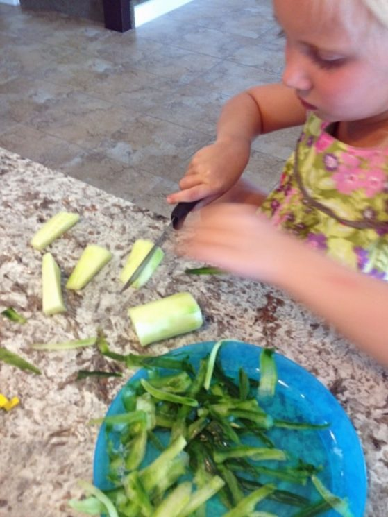 Kids Cucumber Dip And Spears Super Healthy Kids