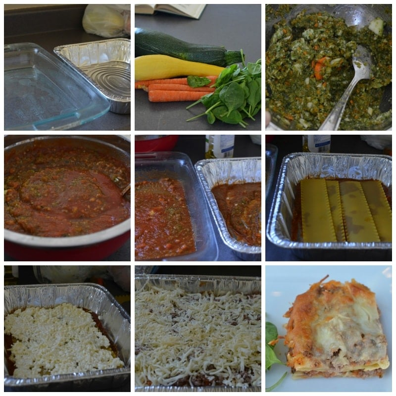 Freezer Meal: Extra Summer Veggie Lasagna. Lasagna is CLASSIC for being freezer friendly! Start with our recipe next time you want to double up and freeze one!