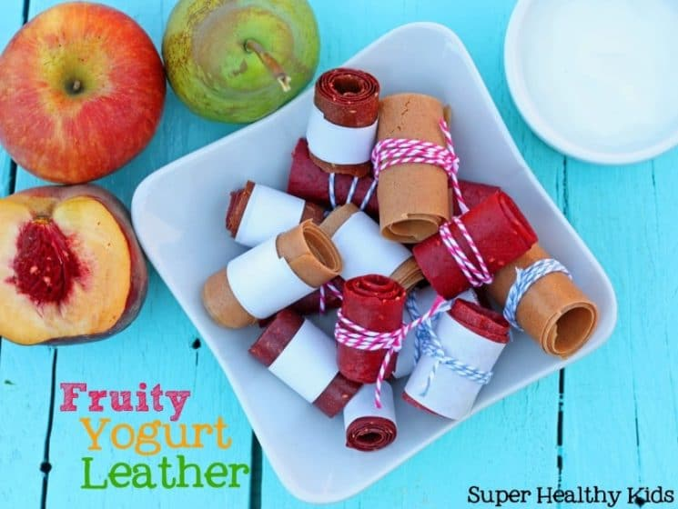 Fruity Yogurt Fruit Leather Recipe. This fruit leather recipe is different than most others- These are creamier and definitely a must try!