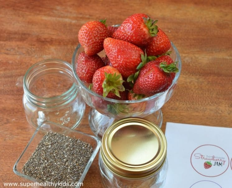 Simple Steps for Making and Preserving Strawberry Chia Jam. Adding chia seeds to jam is a natural (and super healthy) way to thicken up homemade jam!