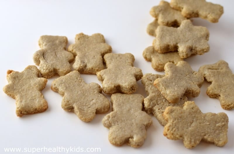 Animal Crackers Recipe. A gluten free animal cracker recipe! Share this one with your friends!