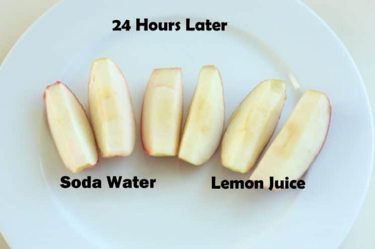How to Prevent Sliced Fruit From Turning Brown. No more brown apples in my salad! We use this trick every time!