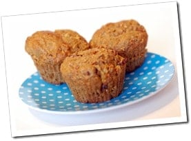 Flax Carrot Apple Muffins. Check out the 10 AMAZING benefits of flax!