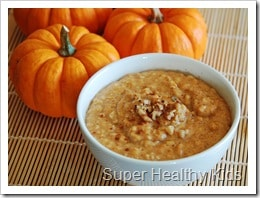 Pumpkin Porridge. Kick boring breakfasts to the curb with this amazing porridge!