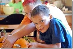 pumpkin bowl kids take