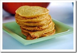 High Protein Pumpkin Pancakes. Get pancakes your kids will love without sacrificing nutrition!