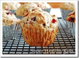 orange cranberry muffin 3
