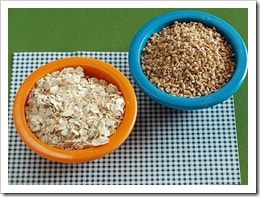 oat groats vs rolled oats
