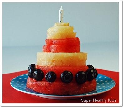 pineapple watermelon cake