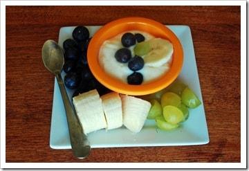 blueberry banana yogurt