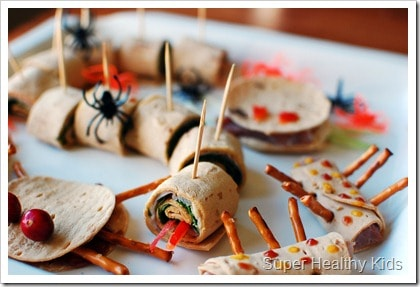 Creepy Crawly Appetizers. Don't let Halloween go by without trying these creepy crawly sandwiches!