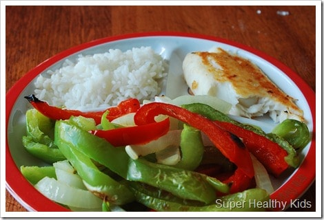myplate meal idea