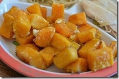 Easy Vegetables: Roasted Butternut Squash Recipe. You haven't enjoyed butternut squash fully, until you've tried it like this!