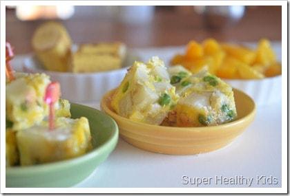 Mini Baked Omelet Bites For Kids Healthy Ideas For Kids