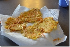 Sweet and Salty Hash Browns. Perfect Saturday morning breakfast idea, packed with vitamin C & A!
