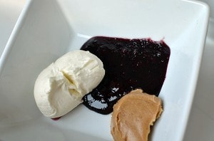 Peanut Butter and Jelly Crepes Recipe. A fun and different lunch idea!
